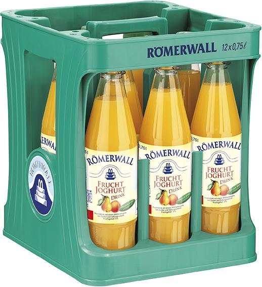 Römerwall Frucht-Joghurt Drink | 12x0,75l PET Mehrweg (+3,30€ Pfand)