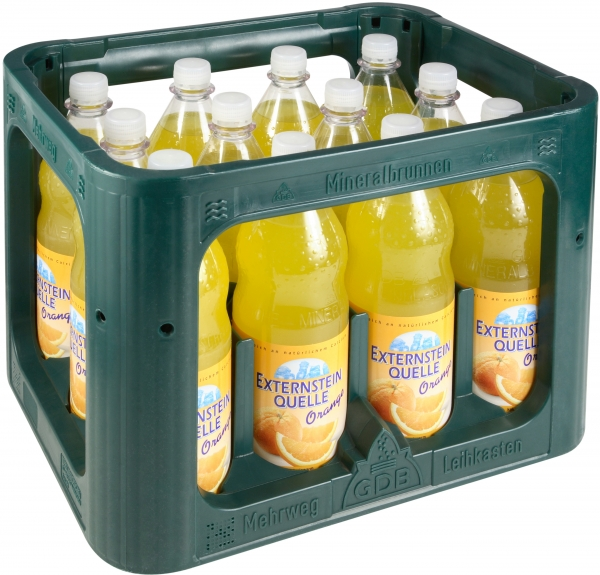 Externstein Orange 12x1l PET (+3,30€ Pfand)