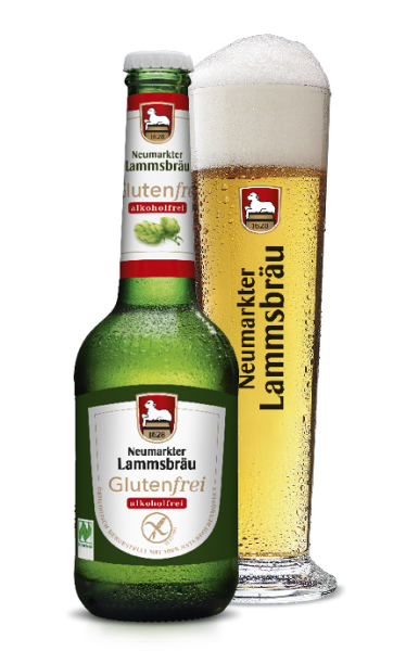Lammsbräu Bio alkoholfrei glutenfrei 10x0,33l (+Pfand 2,30€)