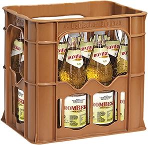 Romberg Apfelschorle 12x0,7l Glas (+Pfand 3,30€)