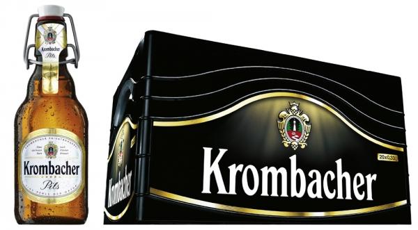 Krombacher Pils Bügel 20x0,33l (+Pfand 4,50€)