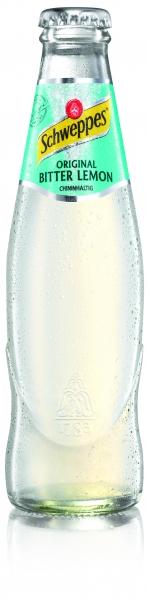 Schweppes Lemon 0,2l Glas (+Pfand 5,10€)