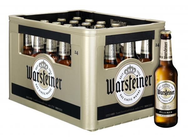 Warsteiner Pils 24x0,33l (+Pfand 3,42€)