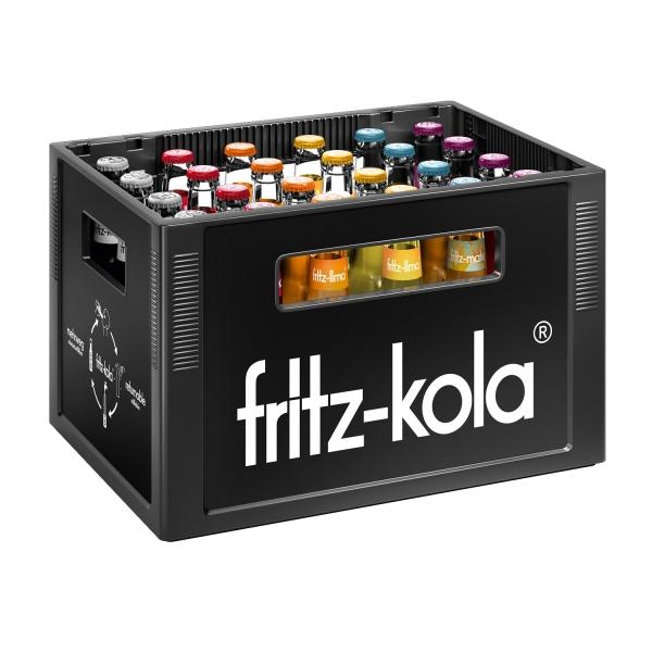 Fritz verschiedene Sorten 24x0,33l (+Pfand 3,42€)
