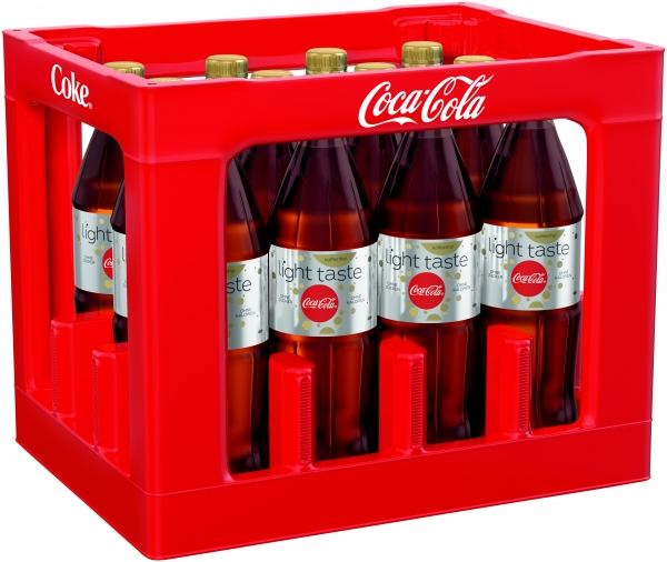Coca Cola Light koffeinfrei 12x1l PET (+Pfand 3,30€)