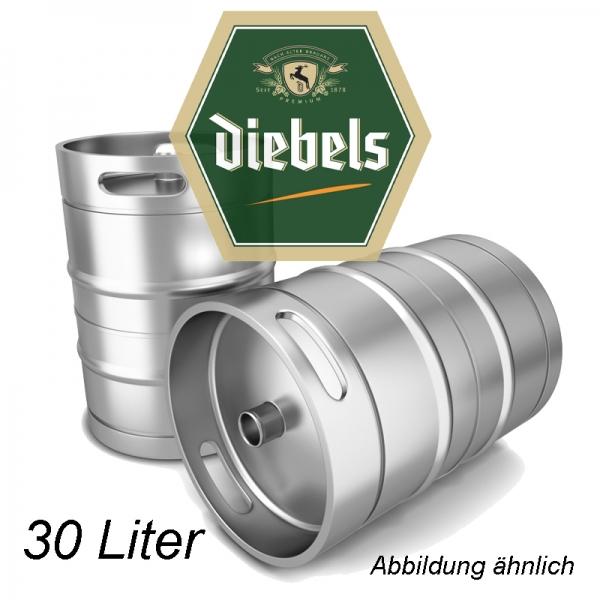Diebels Alt 30 L Fassbier (+ 30,00€ Pfand)