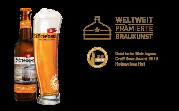 Störtebeker Bio Weizen Bernstein 20x0,5l (+Pfand 3,10€)