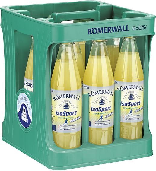 Römerwall IsoSport Citrus-Grapefruit | 12x0,75l PET Mehrweg (+Pfand 3,30€)