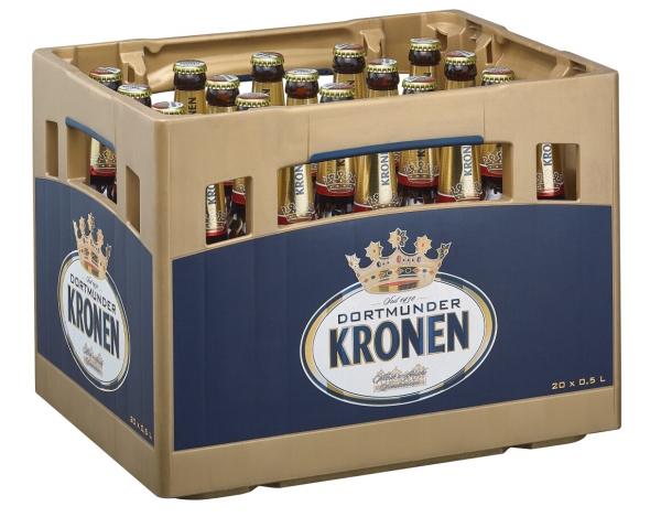 Dortmund Kronen Export 20x0,5l (+Pfand 3,10€)