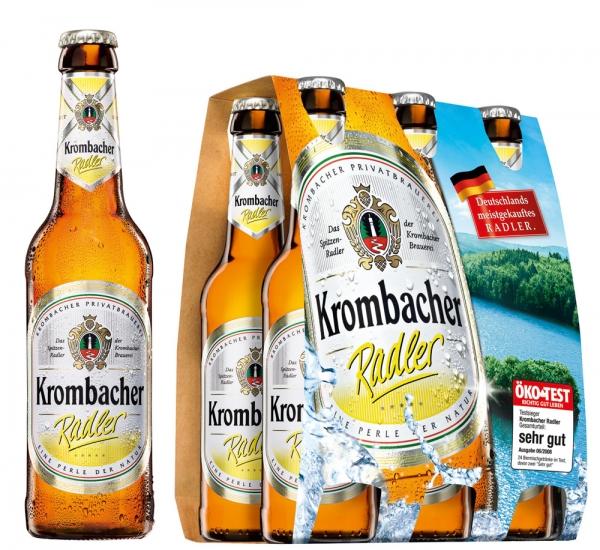 Krombacher Radler 6x0,33L (+ Pfand 0,48€)