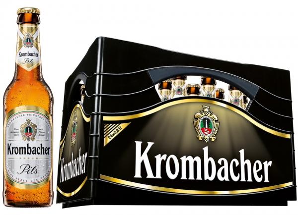 Krombacher Pils 24x0,33l (+Pfand 3,42€)