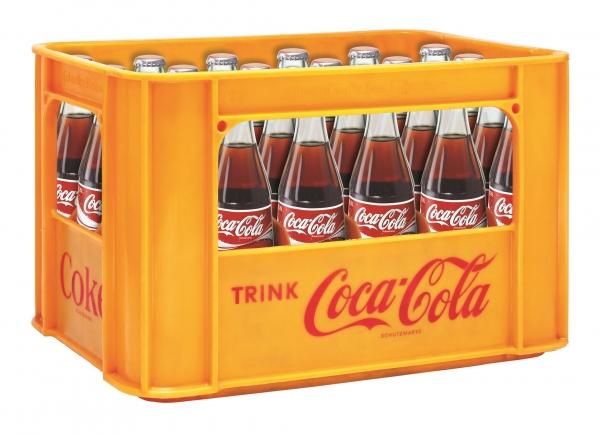 Coca Cola 24x0.33l Glas (+Pfand 5,10€)