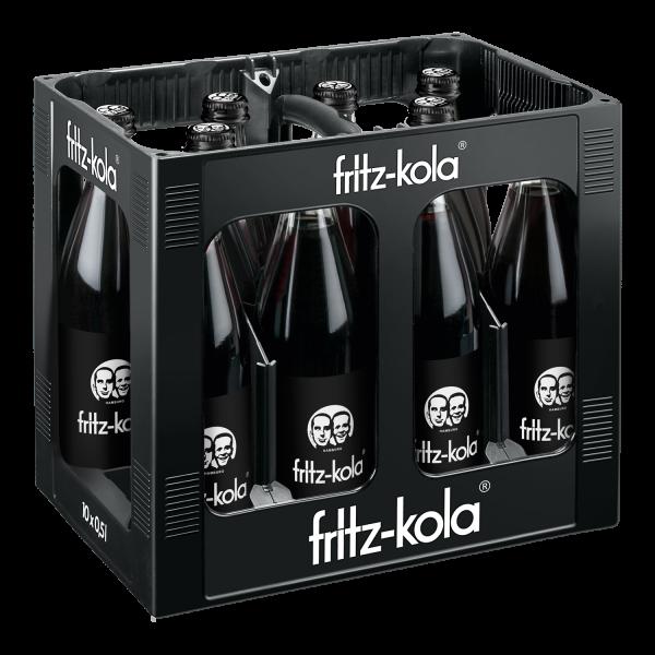 Fritz Cola 10x0,5l (+3,00€ Pfand)