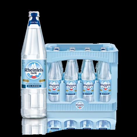 Rheinfels Classic 12x0,7l Glas (+Pfand 3,30€)