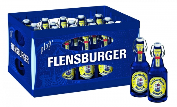 Flensburger Radler 20x0,33l (+Pfand 4,50€)