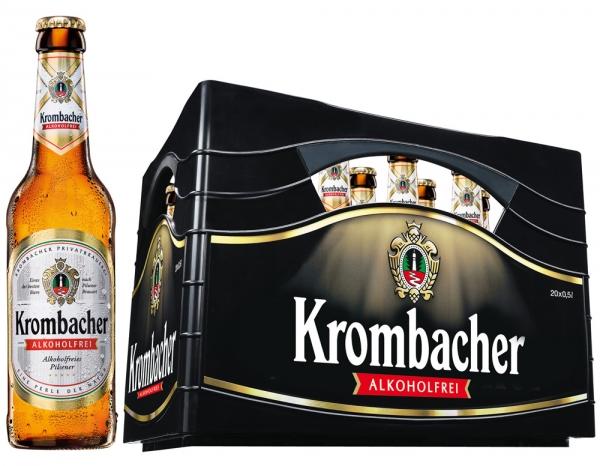 Krombacher Alkoholfrei 20x0,5l (+Pfand 3,10€)