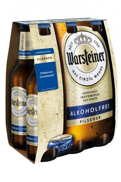 Warsteiner Alkoholfrei 6x0,33l (+ Pfand 0,48€)