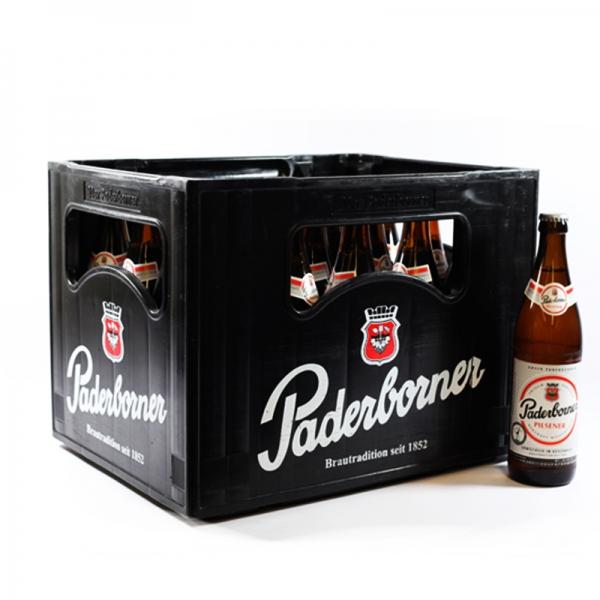 Paderborner Pilsener 20x0,5l (+3,10€ Pfand)