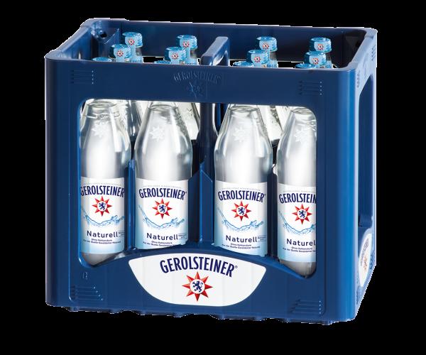 Gerolsteiner Naturell 12x0,75l Glas (+Pfand 3,30€)