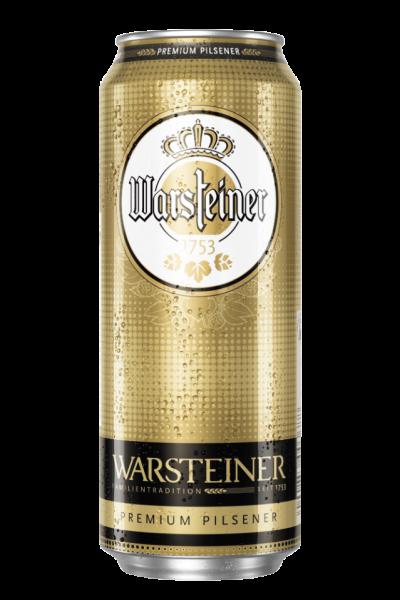 Warsteiner Dose 0,5L