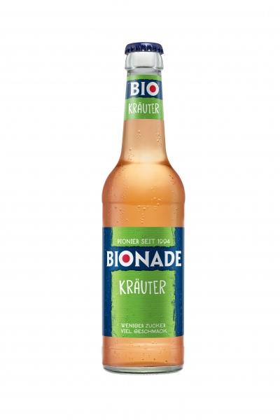 Bionade Kräuter 12x0,33l Glas (+2,46€ Pfand)
