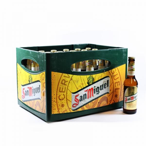San Miguel 24x0,33l (+3,42€ Pfand)