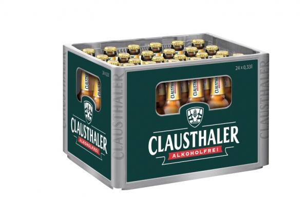 Clausthaler Radler Alkoholfrei 24x0,33l (+Pfand 3,42€)