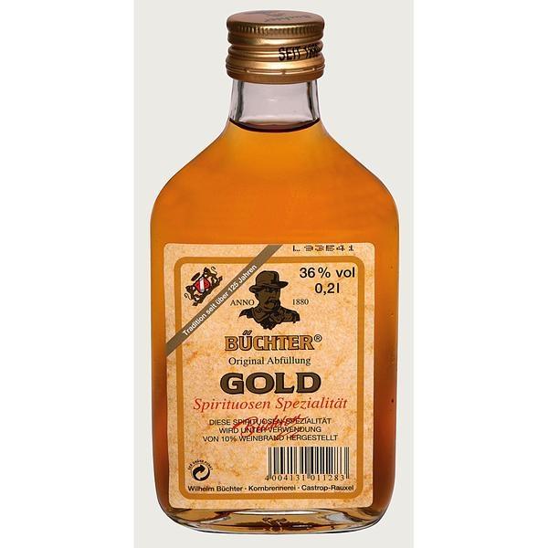 Büchter Gold 36% Vol | 0,2l Flasche