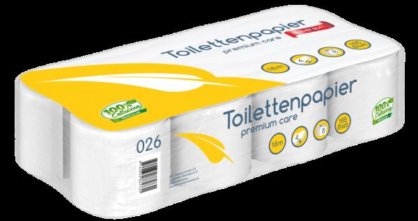Toilettenpapier 8 Rollen 4lagig