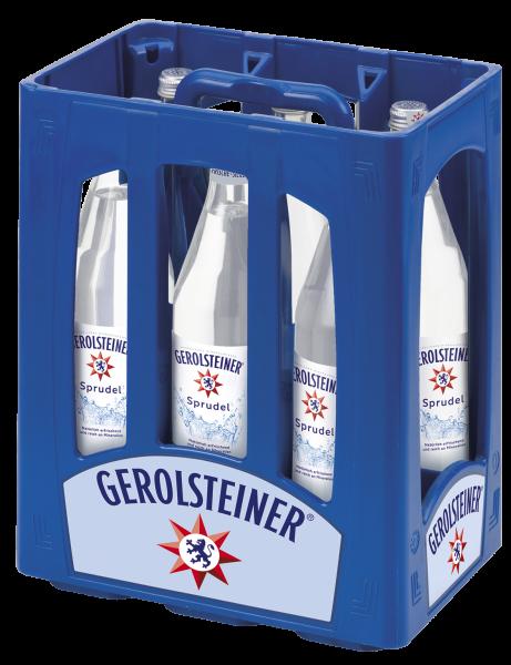 Gerolsteiner Sprudel 6x1l Glas (+Pfand 2,40€)