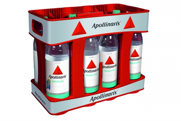 Apollinaris Medium 10x1l PET (+Pfand 3,00€)
