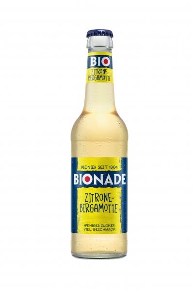 Bionade Zitrone-Bergamotte 12x0,33l Glas (+2,46€ Pfand)
