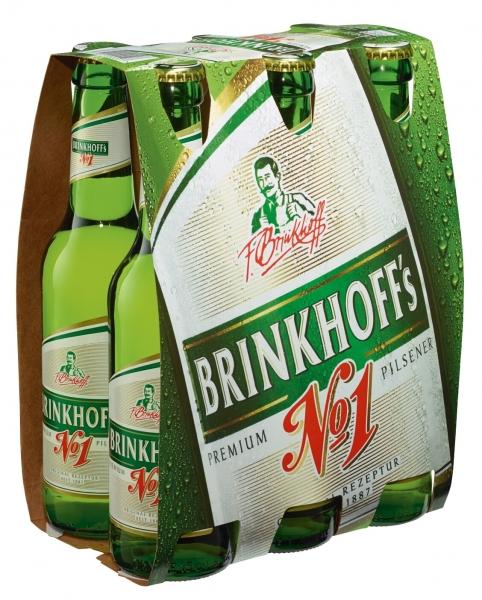 Brinkhoffs 6x0,33L (+0,48€ Pfand)