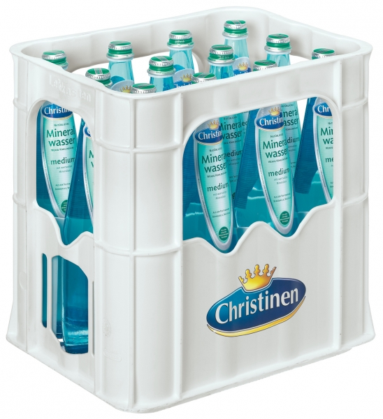 Christinen Bio Medium 12x0,75l Glas (+Pfand 3,30€)