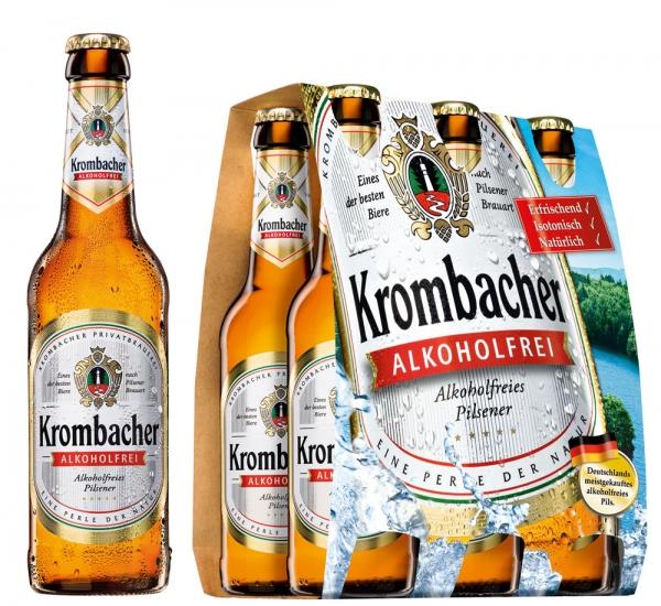 Krombacher Alkoholfrei 6x0,33L (+ Pfand 0,48€)