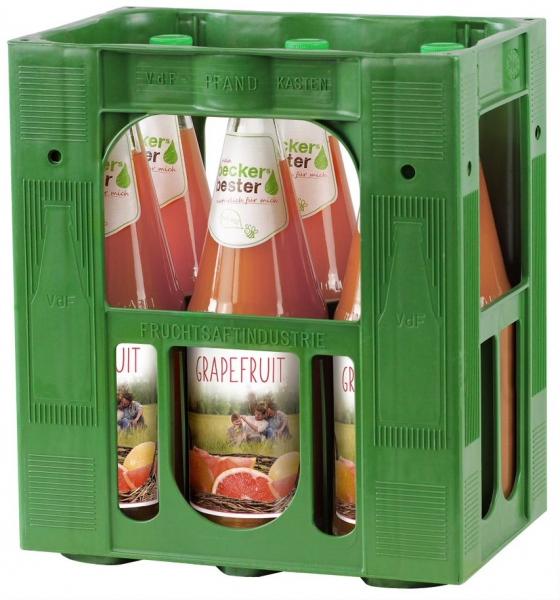 becker´s bester Grapefruit 6x1l Glas (+Pfand 2,40€)
