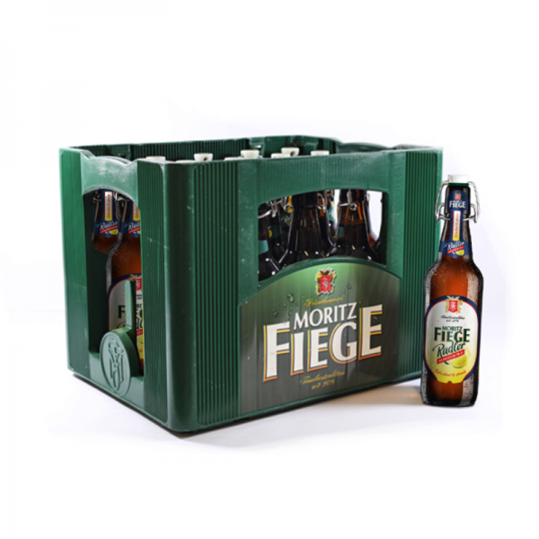 Moritz Fiege Radler alkoholfrei 20x0,5l Bügel (+Pfand 4,50€)