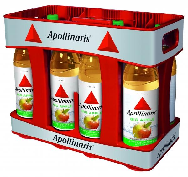 Apollinaris Big Apple 10x1l PET (+Pfand 3,00€)