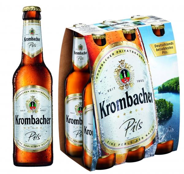 Krombacher Pils 6x0,33L (+ Pfand 0,48€)