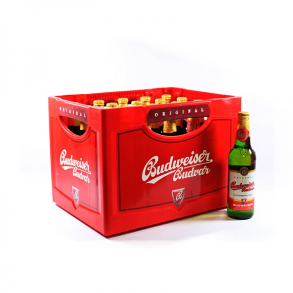 Budweiser Pils 20x0,5l (+Pfand 3,10€)