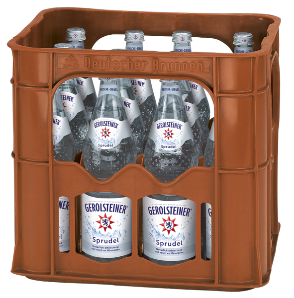 Gerolsteiner Sprudel 12x0,7l Glas (+Pfand 3,30€)