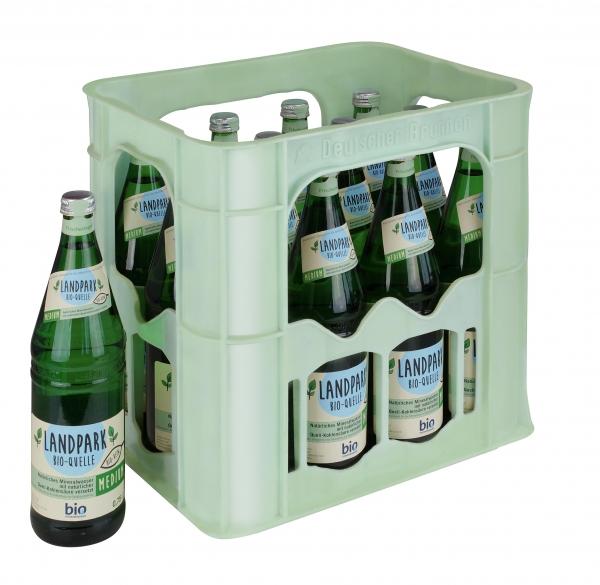 Landpark Bio Medium 12x0,75l Glas (+Pfand 3,30€)