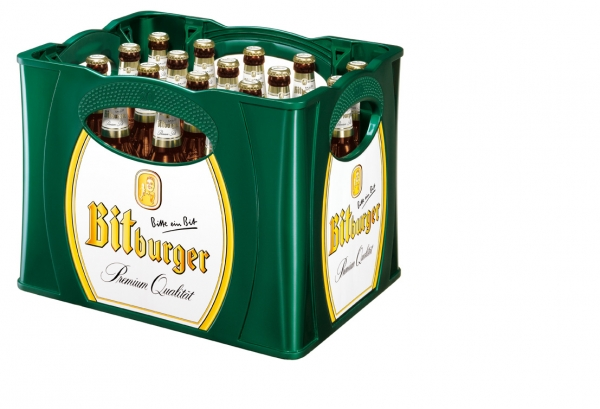 Bitburger Pils 20x0,5l (+Pfand 3,10€)