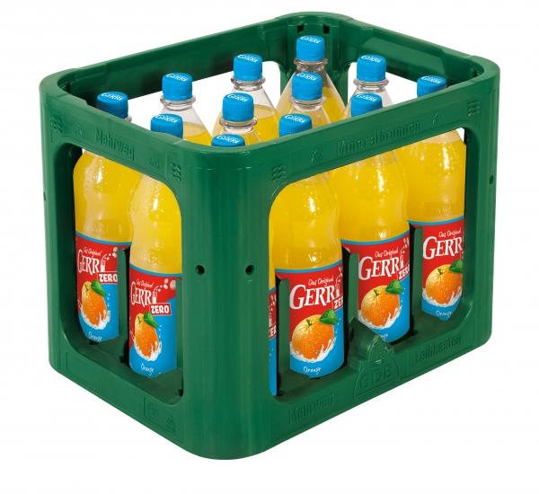 Gerri Orange Zero 12x1l PET (+Pfand 3,30€)