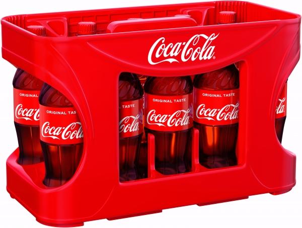Coca Cola 12x0,5l PET (+Pfand 4,50€)