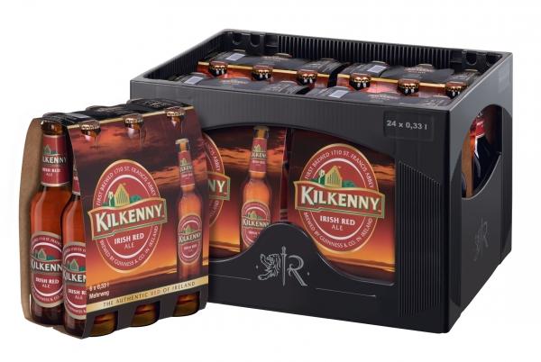 Kilkenny Irish Beer 24x0,33L (+ Pfand 3,42€)