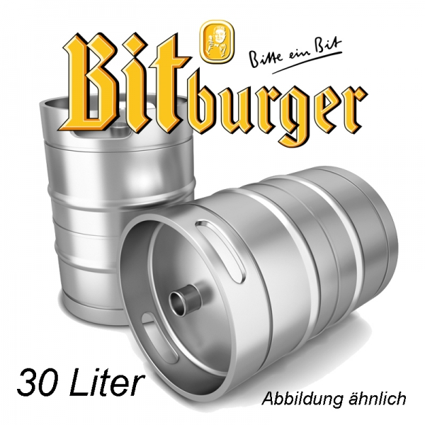 Bitburger 30 L Fassbier (+ 30,00€ Pfand)