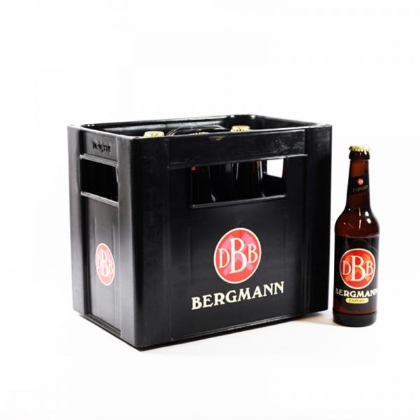 Bergmann Export 10x0,33l (+2,30€ Pfand)
