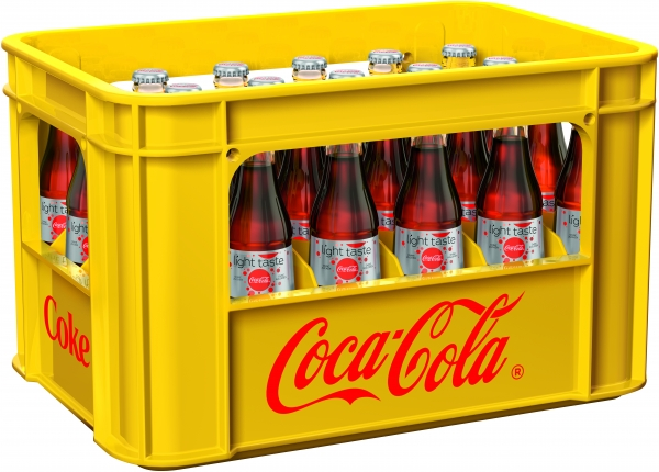 Coca Cola light 24x0.33l Glas (+Pfand 5,10€)