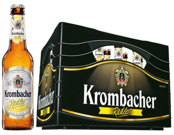 Krombacher Radler 20x0,5l (+3,10€ Pfand)